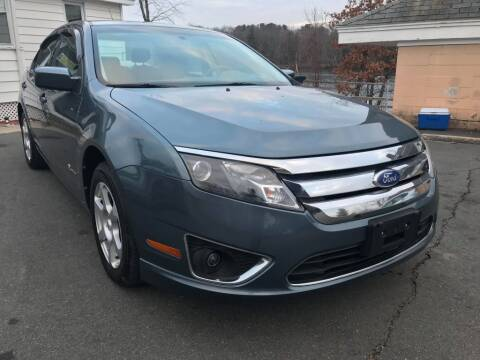 2012 Ford Fusion Hybrid for sale at Dracut's Car Connection in Methuen MA