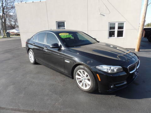 2016 BMW 5 Series for sale at DeLong Auto Group in Tipton IN