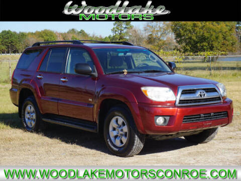 2007 Toyota 4Runner for sale at WOODLAKE MOTORS in Conroe TX