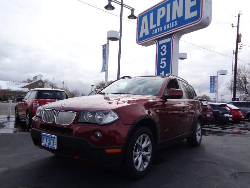 2010 BMW X3 for sale at Alpine Auto Sales in Salt Lake City UT