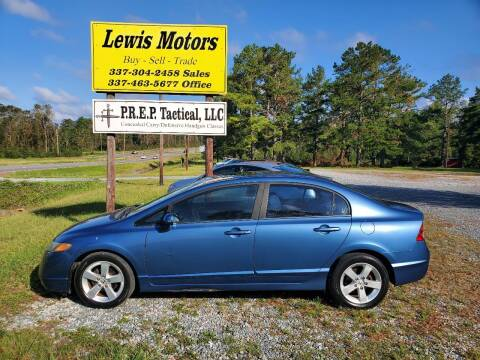2008 Honda Civic for sale at Lewis Motors LLC in Deridder LA