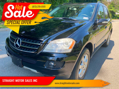 2007 Mercedes-Benz M-Class for sale at STRAIGHT MOTOR SALES INC in Paterson NJ