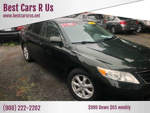 2011 Toyota Camry for sale at Best Cars R Us in Plainfield NJ