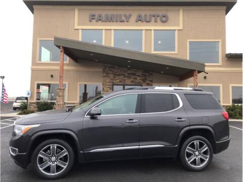 2017 GMC Acadia for sale at Moses Lake Family Auto Center in Moses Lake WA