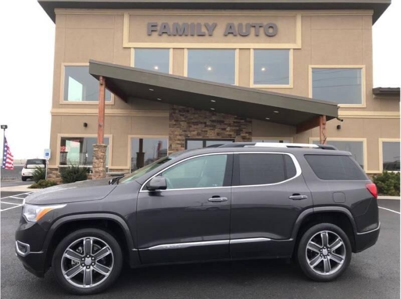 2017 GMC Acadia for sale at Moses Lake Family Auto Center in Moses Lake WA