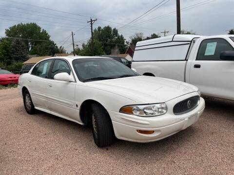 2002 Buick LeSabre for sale at PYRAMID MOTORS AUTO SALES in Florence CO