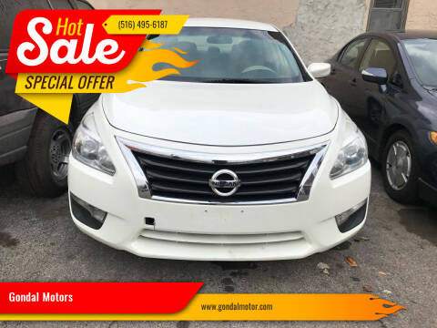 2014 Nissan Altima for sale at Gondal Motors in West Hempstead NY