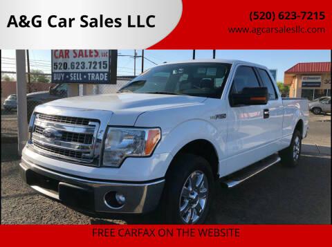 2013 Ford F-150 for sale at A&G Car Sales  LLC in Tucson AZ