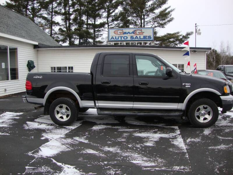 2002 Ford F-150 for sale at G and G AUTO SALES in Merrill WI