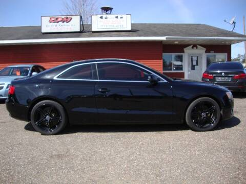 2010 Audi A5 for sale at G and G AUTO SALES in Merrill WI