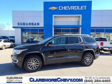 2017 GMC Acadia for sale at Suburban Chevrolet in Claremore OK