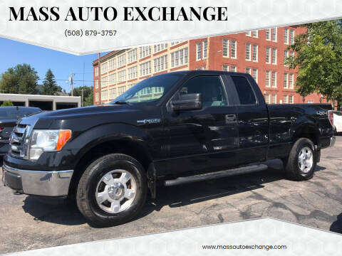 2012 Ford F-150 for sale at Mass Auto Exchange in Framingham MA