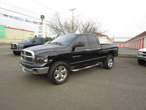 2005 Dodge Ram Pickup 1500 for sale at ARISTA CAR COMPANY LLC in Portland OR