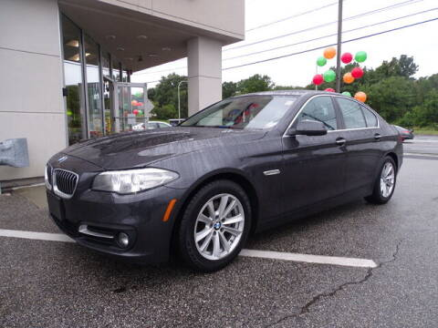 2016 BMW 5 Series for sale at KING RICHARDS AUTO CENTER in East Providence RI