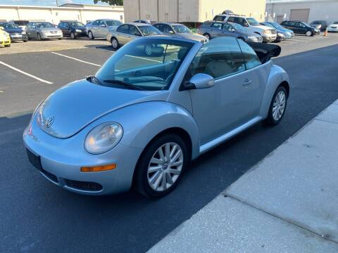 2009 Volkswagen New Beetle Convertible for sale at Ultimate Autos of Tampa Bay LLC in Largo FL