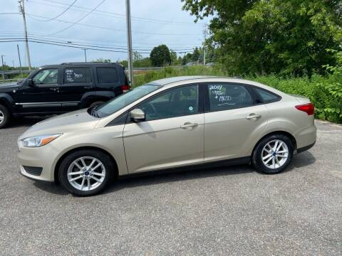 2017 Ford Focus for sale at Mark Regan Auto Sales in Oswego NY