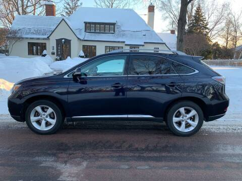 2010 Lexus RX 350 for sale at You Win Auto in Metro MN
