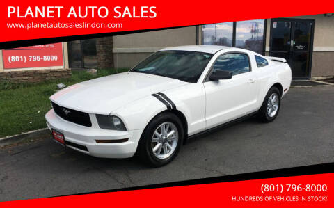 2007 Ford Mustang for sale at PLANET AUTO SALES in Lindon UT