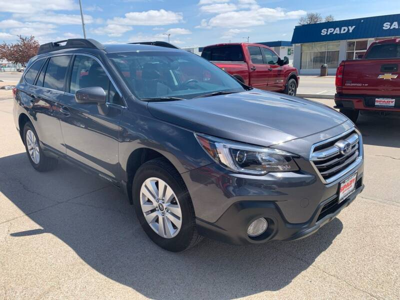 2019 Subaru Outback for sale at Spady Used Cars in Holdrege NE