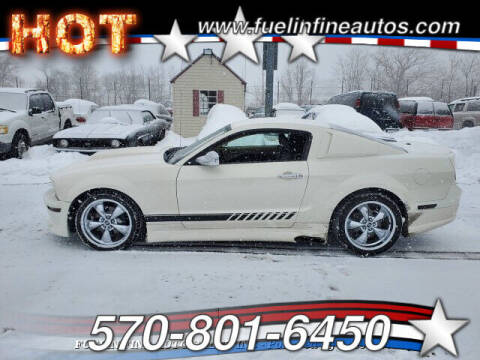 2007 Ford Mustang for sale at FUELIN FINE AUTO SALES INC in Saylorsburg PA