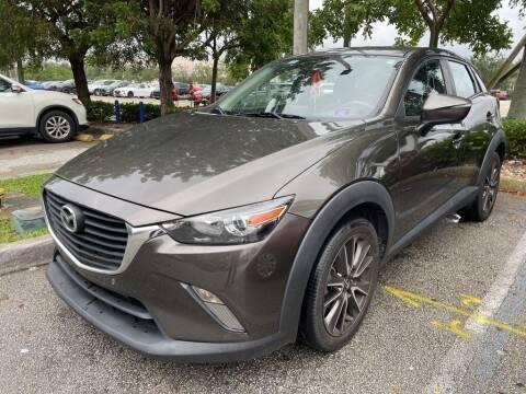 2017 Mazda CX-3 for sale at DORAL HYUNDAI in Doral FL