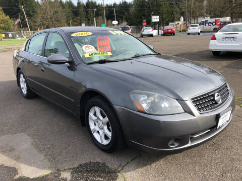 2006 Nissan Altima for sale at Freeborn Motors in Lafayette, OR