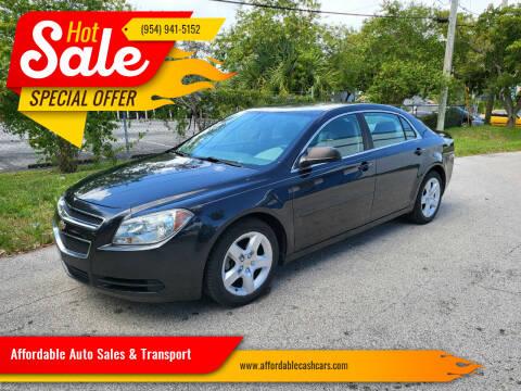2011 Chevrolet Malibu for sale at Affordable Auto Sales & Transport in Pompano Beach FL