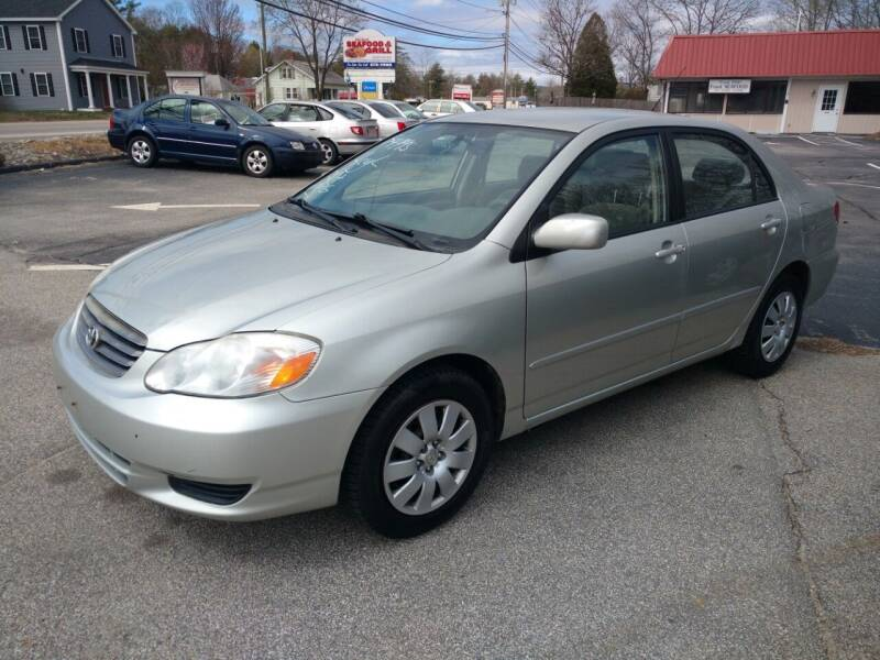 2004 Toyota Corolla for sale at Auto Brokers of Milford in Milford NH