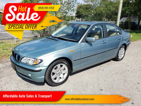 2004 BMW 3 Series for sale at Affordable Auto Sales & Transport in Pompano Beach FL