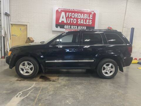 2005 Jeep Grand Cherokee for sale at Affordable Auto Sales in Humphrey NE