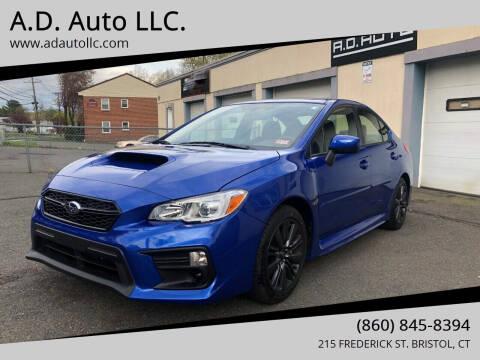 2018 Subaru WRX for sale at ADAuto LLC in Bristol CT