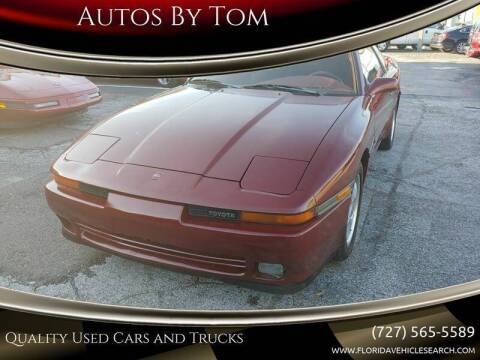 1989 Toyota Supra for sale at Autos by Tom in Largo FL