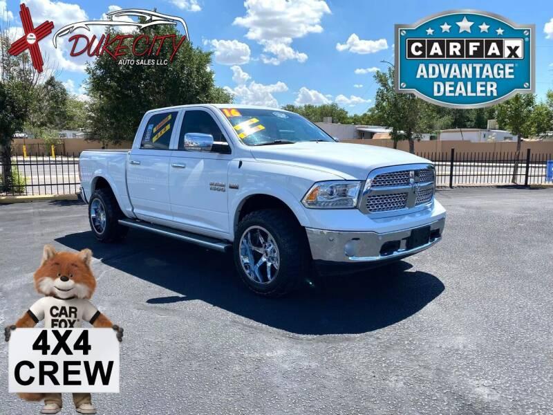 2016 RAM Ram Pickup 1500 for sale at DUKE CITY AUTO SALES in Albuquerque NM