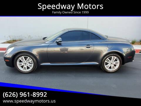 2007 Lexus SC 430 for sale at Speedway Motors in Glendora CA