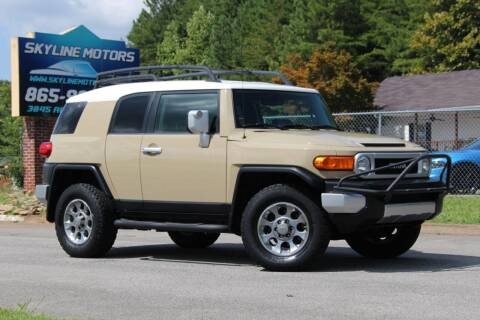 2011 Toyota FJ Cruiser for sale at Skyline Motors in Louisville TN