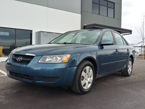 2007 Hyundai Sonata for sale at AUTOMOTIVE SOLUTIONS in Salt Lake City UT