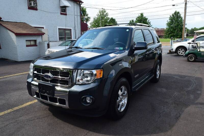 2008 Ford Escape for sale at L&J AUTO SALES in Birdsboro PA