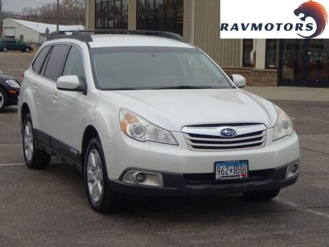 2011 Subaru Outback for sale at RAVMOTORS 2 in Crystal MN