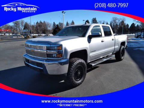 2017 Chevrolet Silverado 2500HD for sale at Rocky Mountain Motors in Idaho Falls ID