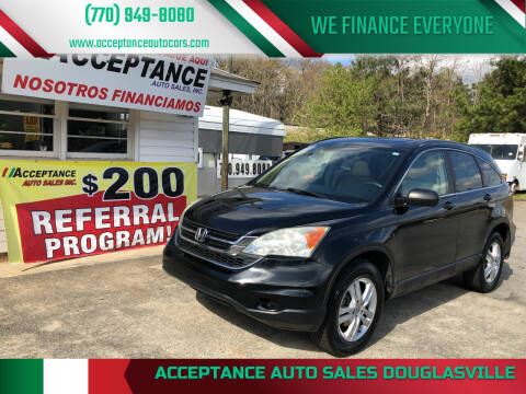 2010 Honda CR-V for sale at Acceptance Auto Sales Douglasville in Douglasville GA