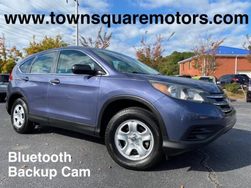 2012 Honda CR-V for sale at Town Square Motors in Lawrenceville GA