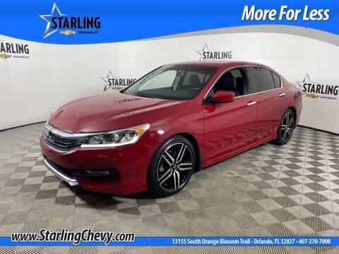 2017 Honda Accord for sale at Pedro @ Starling Chevrolet in Orlando FL
