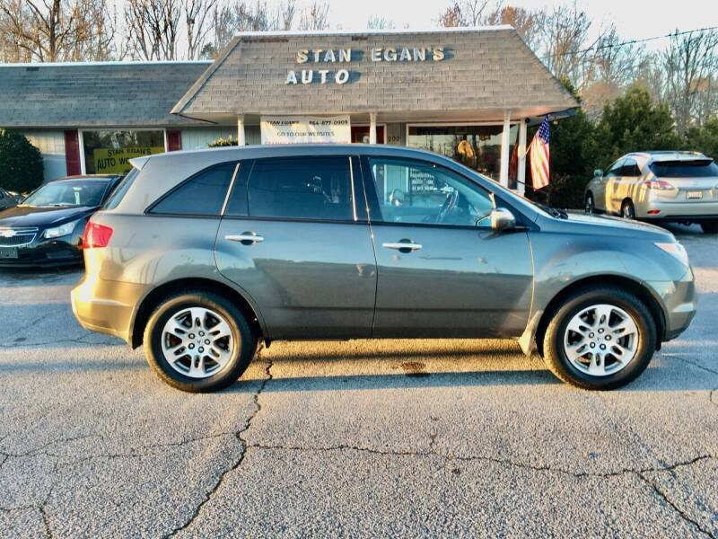 2007 Acura MDX for sale at STAN EGAN'S AUTO WORLD, INC. in Greer SC