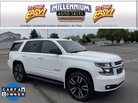 2018 Chevrolet Tahoe for sale at Millennium Auto Sales in Kennewick WA