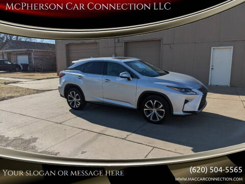 2016 Lexus RX 350 for sale at McPherson Car Connection LLC in Mcpherson KS