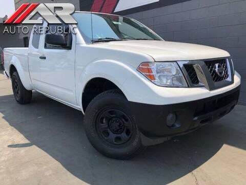 2017 Nissan Frontier for sale at Auto Republic Fullerton in Fullerton CA