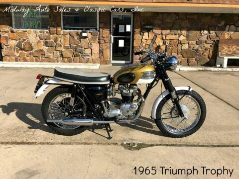 1965 Triumph TR6SR for sale at MIDWAY AUTO SALES & CLASSIC CARS INC in Fort Smith AR