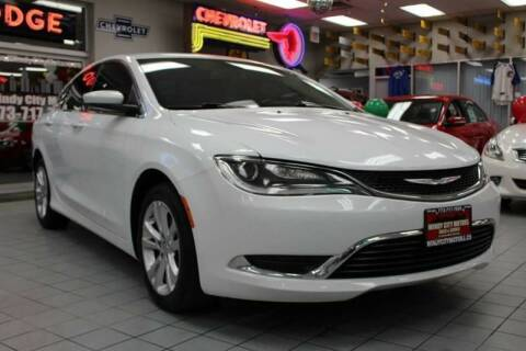 2015 Chrysler 200 for sale at Windy City Motors in Chicago IL
