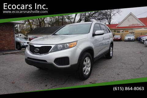2013 Kia Sorento for sale at Ecocars Inc. in Nashville TN