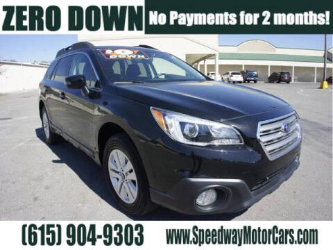 2017 Subaru Outback for sale at Speedway Motors in Murfreesboro TN